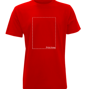 100-Cotton-Red-A4
