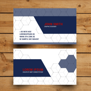 hexagonal-namecard