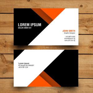 orange-black-namecard-design