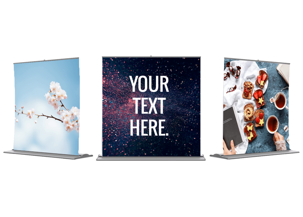 Pull Up Banners 200cm x 200cm