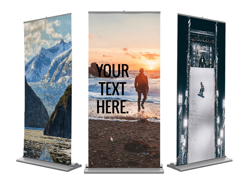 Pull Up Banners 200cm x 85cm